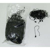 Връзки за етикети черни 1000 бр