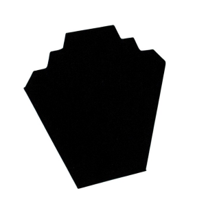 Дисплей за бижута черен велур
