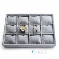 Кутия за часовници сива