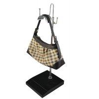 Метална стойка за чанти с МДФ