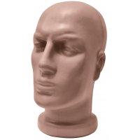 Глава мъжка с къса шия телесен цвят