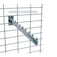 Бастун за решетка наклонен с 9 пъпки