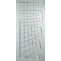 Решетка за стена хром 600x2000