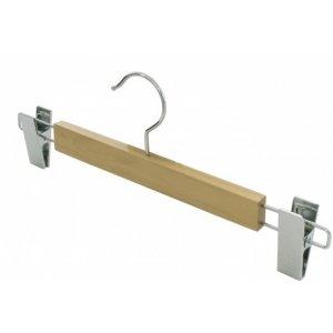 Закачалка дървена с щипки